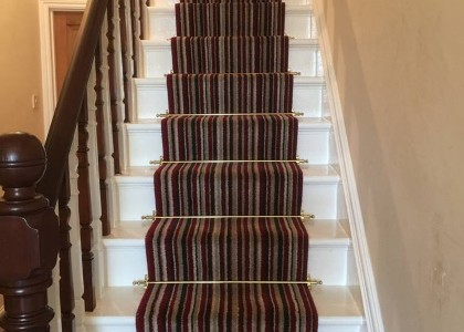 Carpet Installation - Stairs -  Floors 4U Ipswich