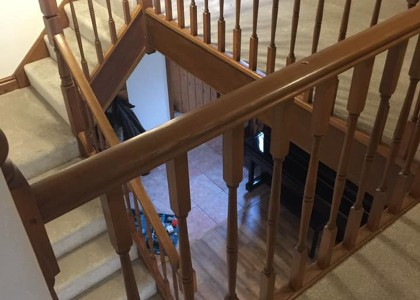Carpet Installation - Stairs & Landing -  Floors 4U Ipswich