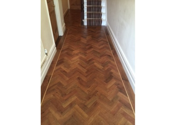 Floors 4U Ipswich - Wooden floor and carpet on stairs