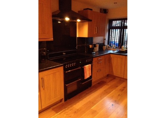 Kitchen wooden floor - Floors 4U Ipswich