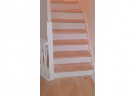 wooden stairs - Floors  U Ipswich
