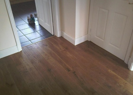 Hallway and bathroom floors - Floors 4U Ipswich